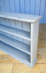 Image 3 - Reclaimed Plank Hand Painted & Distressed Bookcase