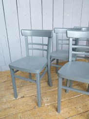 Image 3 - Solid Finish Painted Chairs In Farrow & Ball Paint