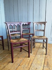 Image 5 - Mixture of Farrow & Ball Solid Finish Painted Chairs