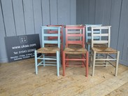 Image 6 - Mixture of Farrow & Ball Solid Finish Painted Chairs