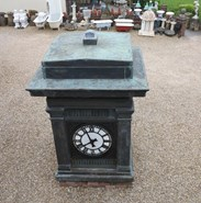 Image 8 - Antique Copper and Cast Iron Four Face Clock Tower - Fully Refurbished