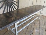 Industrial Style Zinc Bar Tops Made to Order