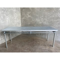 Industrial Style Zinc Table