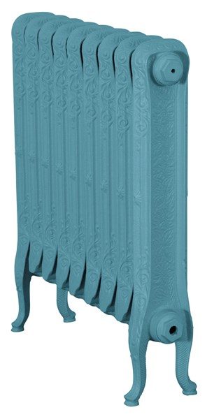 John King 780mm Tall Cast Iron Radiator 9 Sections