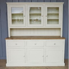 Kitchen Reclaimed Pine Dresser - Hand Painted