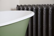 Lille Single Slipper Cast Iron Bath Without Tap Holes