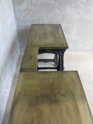 Made To Order Brass Worktops at UKAA