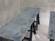 Made To Order Zinc Kitchen Worktops For Sale at UKAA