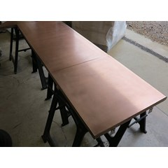 Matt Copper Kitchen Worktop