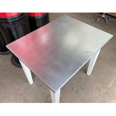Matt Zinc Finish Table