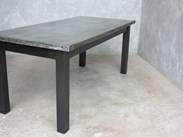 Matt Zinc Table Made To Order