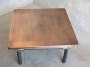 Metal Base Copper Coffee Table