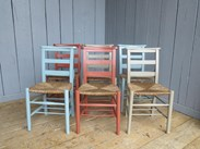 Mixture of Farrow & Ball Solid Finish Painted Chairs