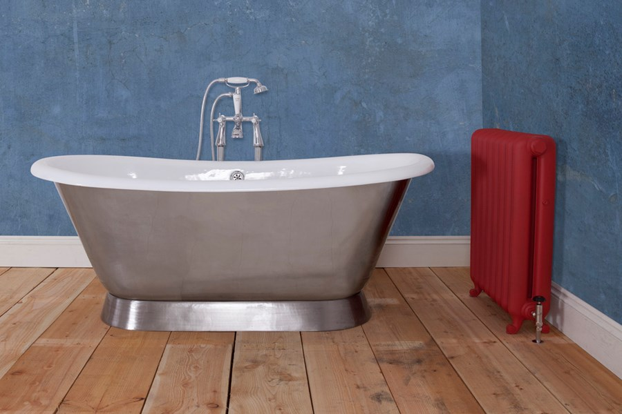 Montreal Cast Iron Jig Bath with Polished Exterior