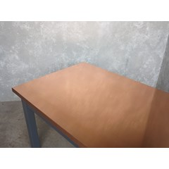 Natural Copper Kitchen Table
