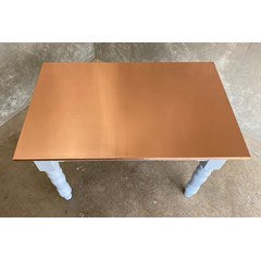 Natural Finish Copper Table