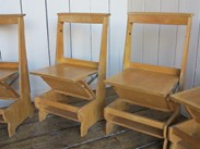 Oak Church and Chapel Chairs For Sale