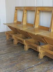 Oak Kitchen and Dining Chairs For Sale
