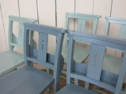 Old Church and Chapel Chairs Painted