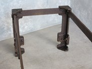 Original Large Cast Iron Bases For Sale At UKAA