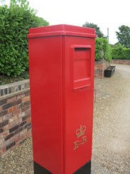 Original Royal Mail Square Pillar Boxes For Sale