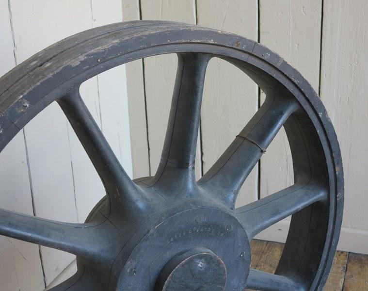 Handmade Wooden Locomotive Train Wheel Mould