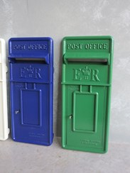 Painted Post Box Fronts in a Colour of Your Choice