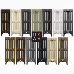 Painted Victorian Style 6 Column Radiator