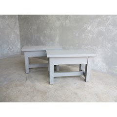 Pair Of Plank Top Benches