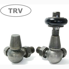 Pewter Faringdon Corner Valves