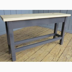 Plank Top Bench