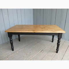 Plank Top Kitchen Table