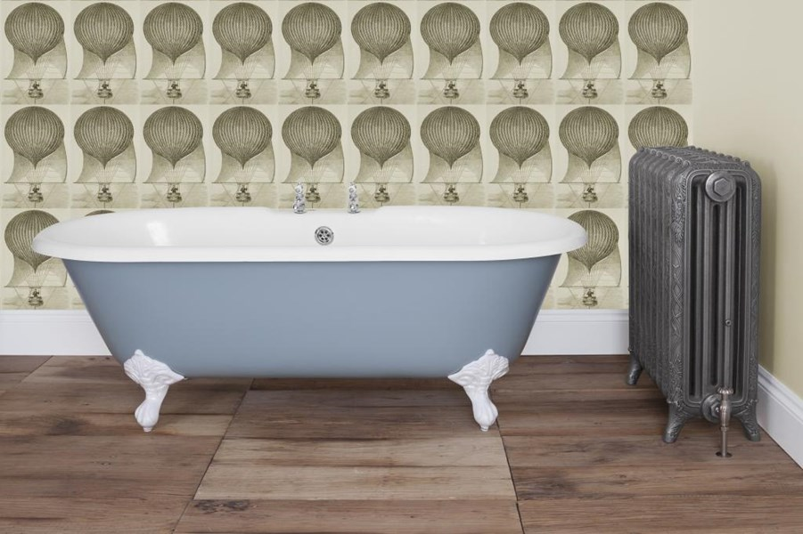Primary Image - Ashby Double Ended Roll Top Cast Iron Bath