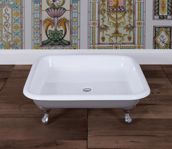 Primary Image - Bentley Cast Iron Shower Tray With Chrome Feet