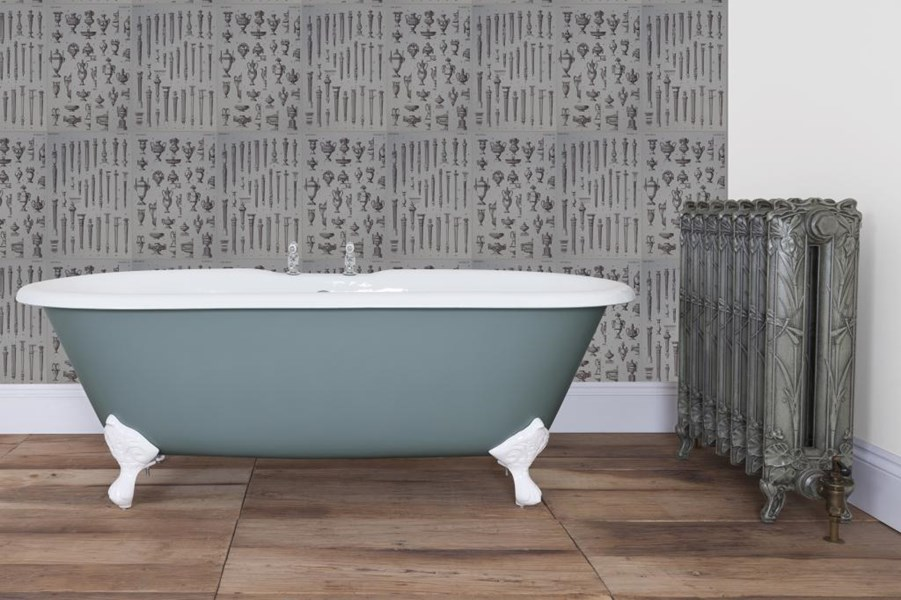 Primary Image - Bisley Double Ended Roll Top Cast Iron Bath