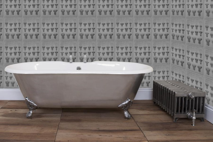 Primary Image - Bisley Full Polished Double Ended Roll Top Cast Iron Bath