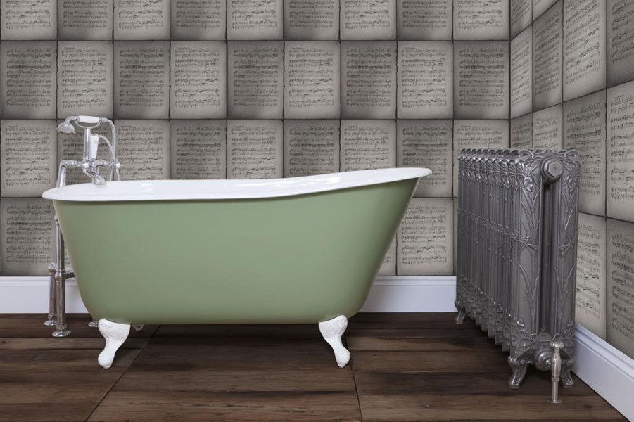 Primary Image - Lille Single Slipper Cast Iron Bath