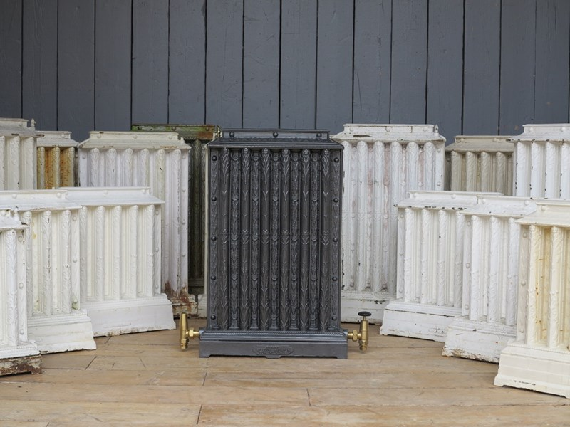 Rare Antique COALBROOKDALE Ornate Cast Iron Radiators