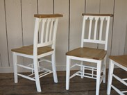 Reclaimed Chapel Chairs are available to buy at UKAA