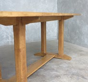 Refectory Style Oak Kitchen Or Dining Table