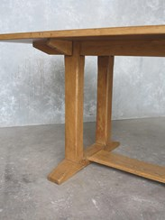 Refectory Style Solid Oak Reclaimed Table