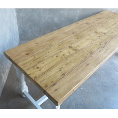 Refectory Table Made From Reclaimed Pine