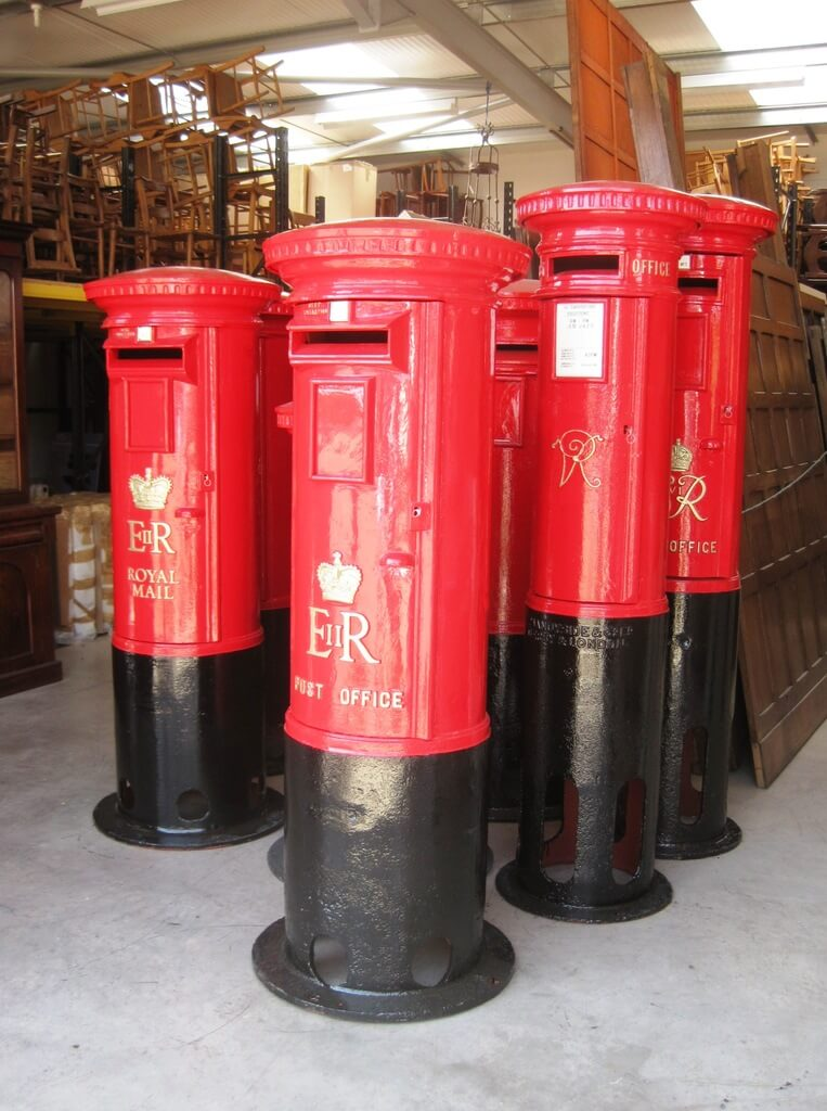 Antique Royal Mail Pillar Boxes For Sale