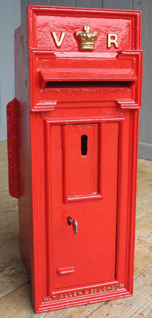 Antique Victorian Post Boxes