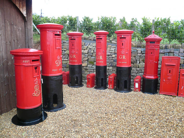 Find Fully Refurbished Vintage Post Boxes For Sale At UKAA