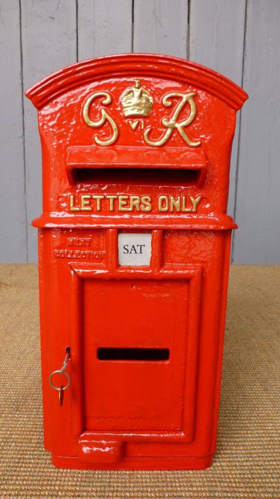 Georgian Royal Mail Post Boxes