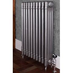Satin Polished Carron Deco Cast Iron Radiator