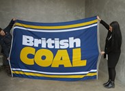 Showing The Size Of The British Coal Flag