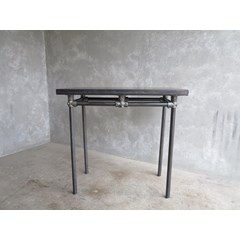 Small Zinc Kitchen Side Table
