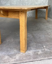 Solid Oak Reclaimed Dining Table